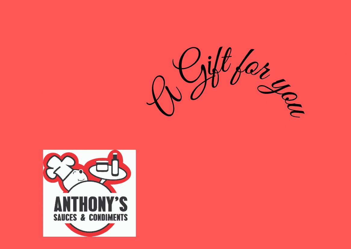 Anthony's Sauces – Gift Card